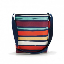 Shoulderbag - artist stripes