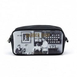 "Trousse de toilette - gm ""Barber shop"" Catseye"