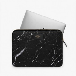 "Pochette laptop ""Black marble"" Wouf"