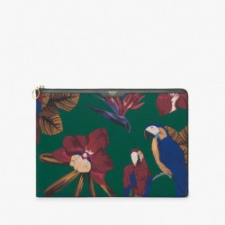 "Pochette laptop ""Tropical night"" Wouf"