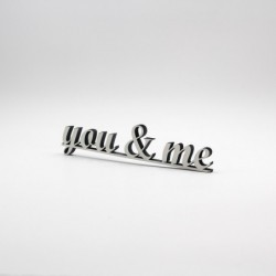 "Message 3D ""you & me"""