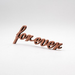 "Message 3D ""forever"""