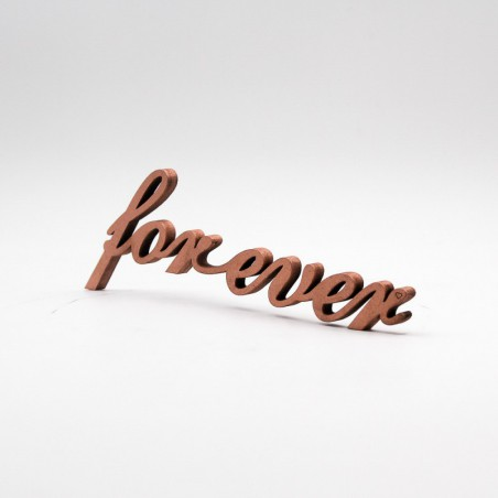 """Message 3D """"forever"""""""