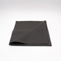 Serviette de table en lin - anthracite - Chilewich