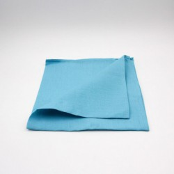 Serviette de table en lin - turquoise - Chilewich