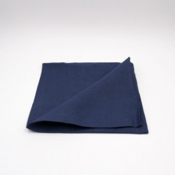 Serviette de table en lin - bleue - Chilewich