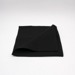 Serviette de table en lin - noire - Chilewich