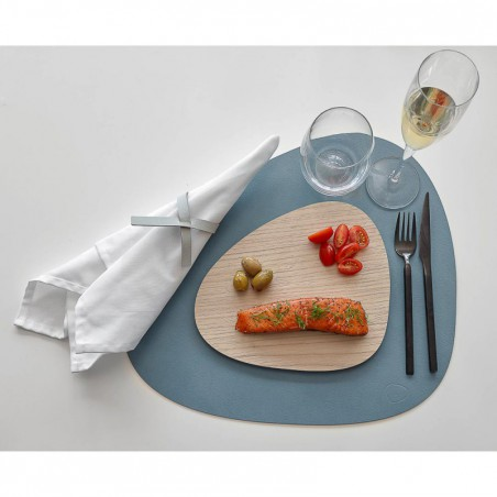 "Set de table - galet bleu clair ""nupo"" LIND DNA"