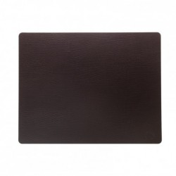 "Set de table - rectangle marron ""bull"" LIND DNA"