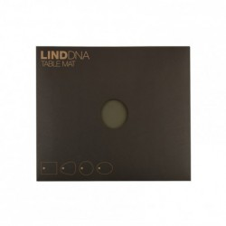 "Set de table - rectangle sable ""nupo"" LIND DNA"