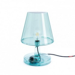 "Lampe de table - bleu ""trans-parent"" Fatboy"