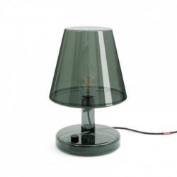 "Lampe de table - gris foncé ""trans-parent"" Fatboy"