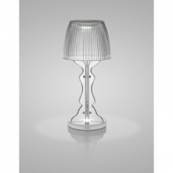 "Lampe rechargeable - transparente ""lady led"" Vesta"