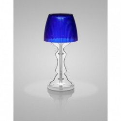 "Lampe rechargeable - bleu ""lady led"" Vesta"