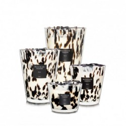 "Bougie parfumée ""pearls-black"" Baobab Collection"