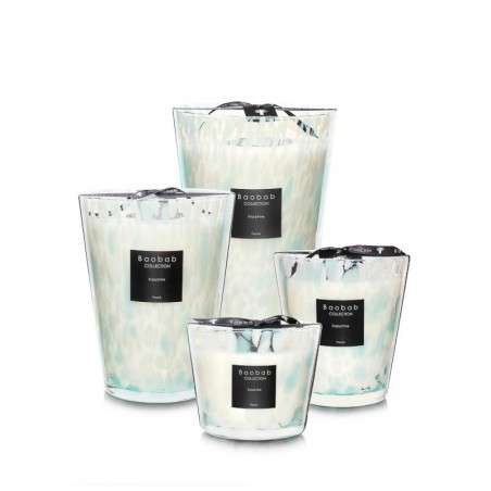 """Bougie parfumée """"pearls-sapphire"""" Baobab Collection"""