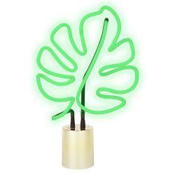"Lampe néon ""monstera leaf"" Sunnylife - GM"
