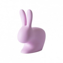 "Chaise - rose ""Rabbit Chair"" Qeeboo"