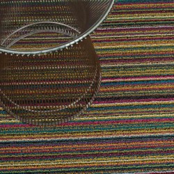 "tapis chilewich ""shag skinny bright"" multicolore"
