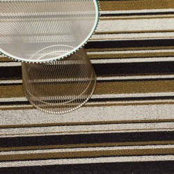 "tapis chilewich ""shag mixed stripe"" luxe L"