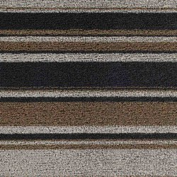 """tapis chilewich """"shag mixed stripe"""" luxe L"""