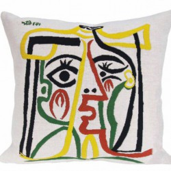 """Coussin Pansu """"Head of the..."""